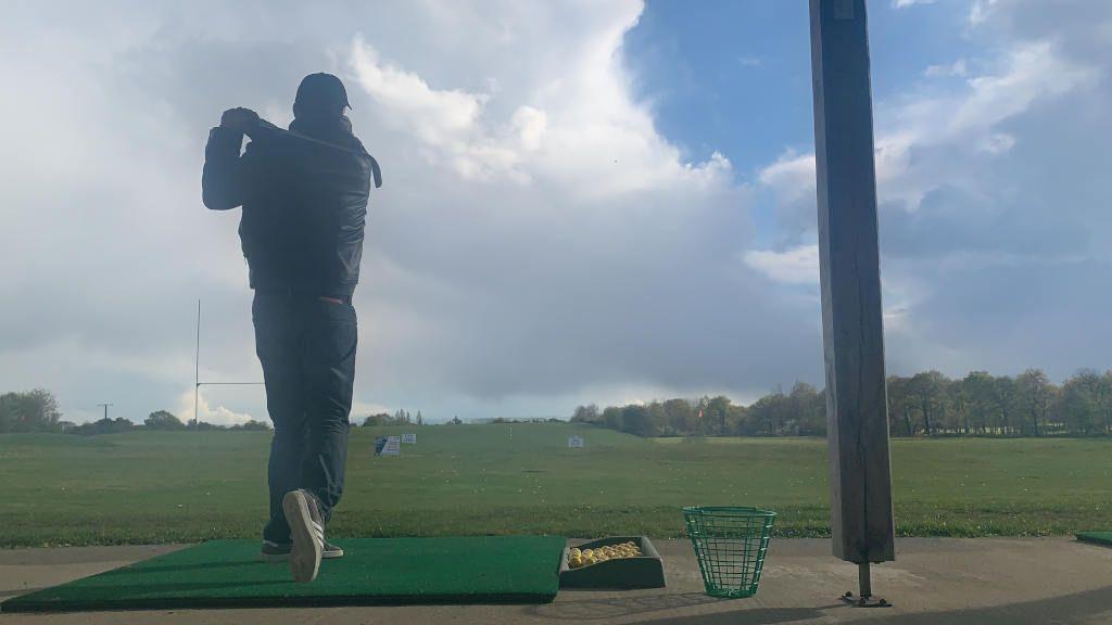 séance de golf
